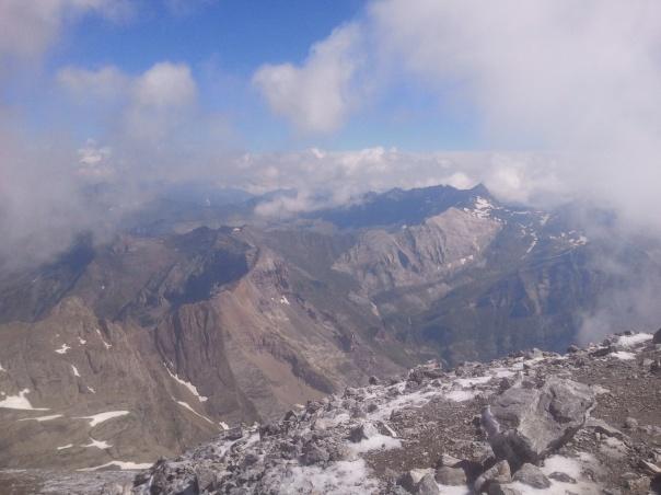 Valle de La Pineta desde Monte Perdido