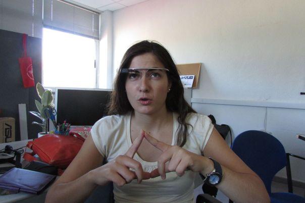 Probrando Google Glass